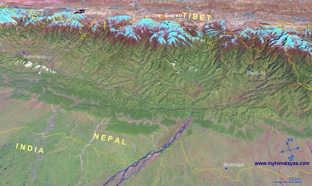kathmandu nepal map. kathmandu nepal map. Map Kangchenjunga and East; Map Kangchenjunga and East